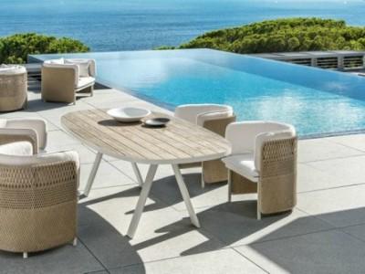 Mua ngoại thất sân vườn hồ bơi phù hợp với thiết kế nhà