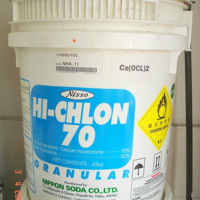 HÓA CHẤT CHLORIN 70% NIPPON