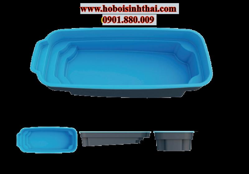 giá bể bơi composite mini